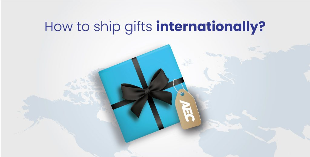Gifts shipping to europe from USA