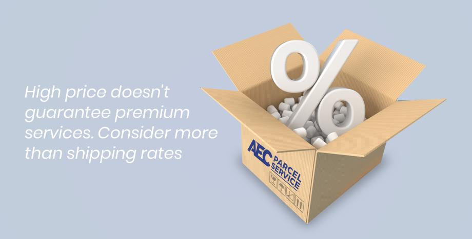High price doesn't guarantee premium services