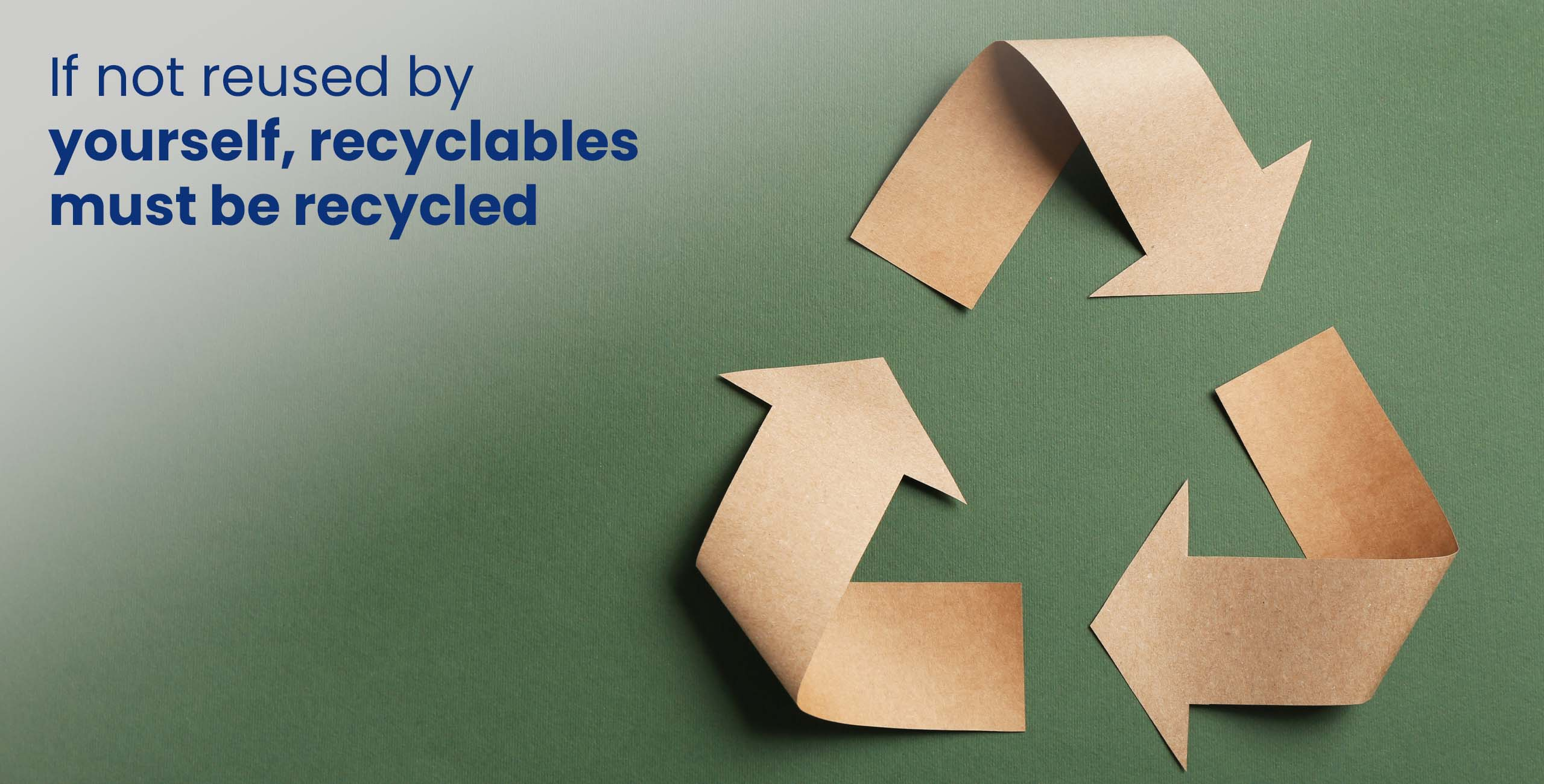recycle packaging materials