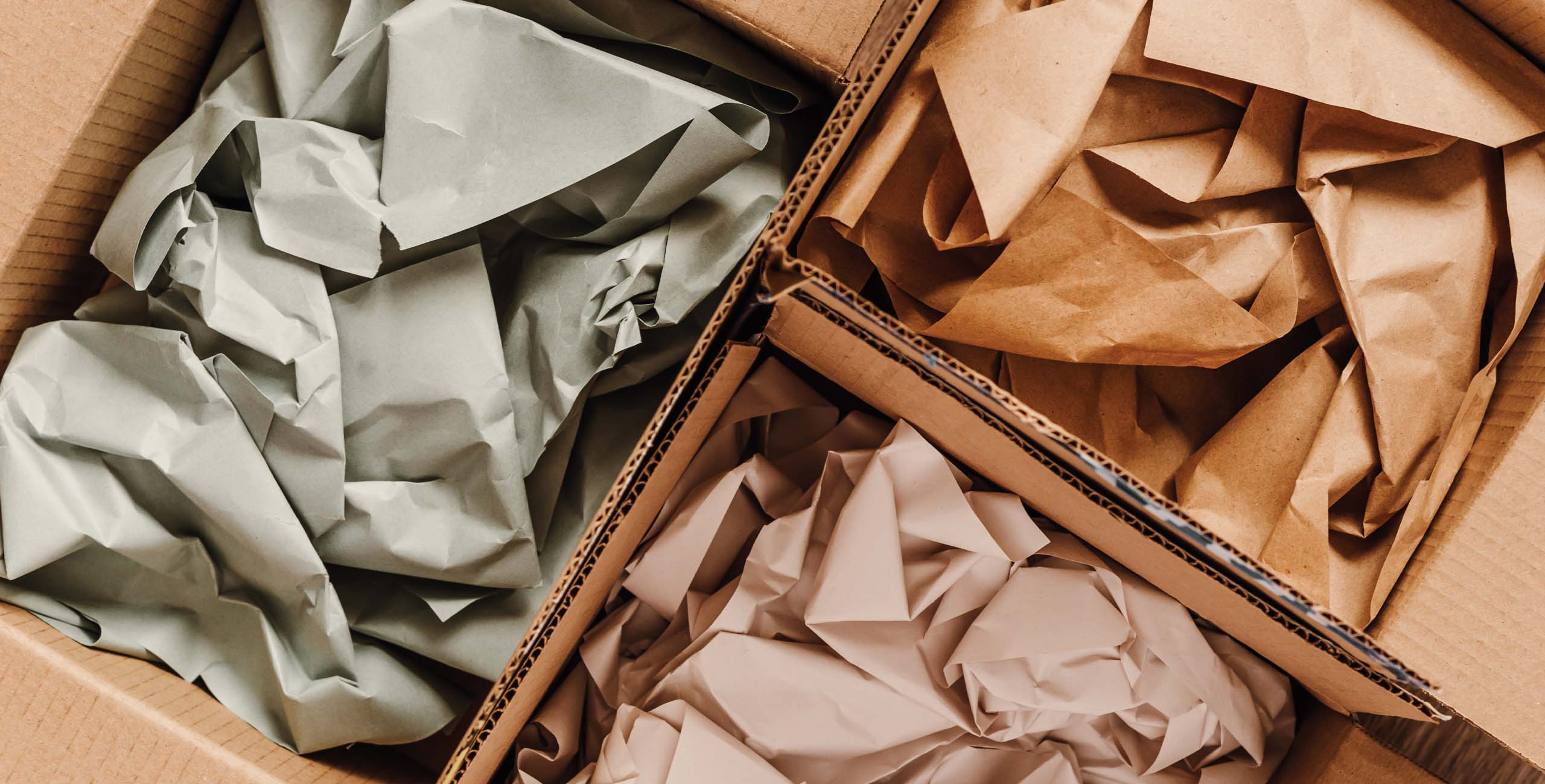 sustainable materials for package shipping